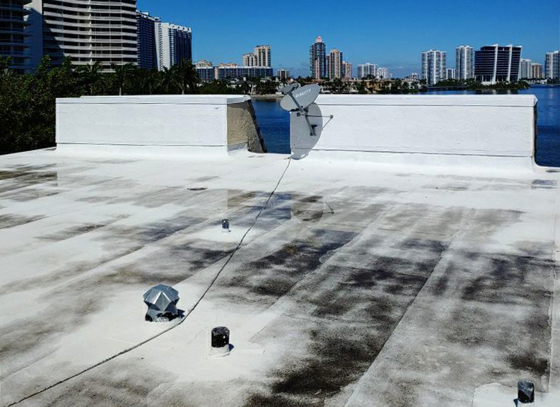 Flat Roof Ponding Water